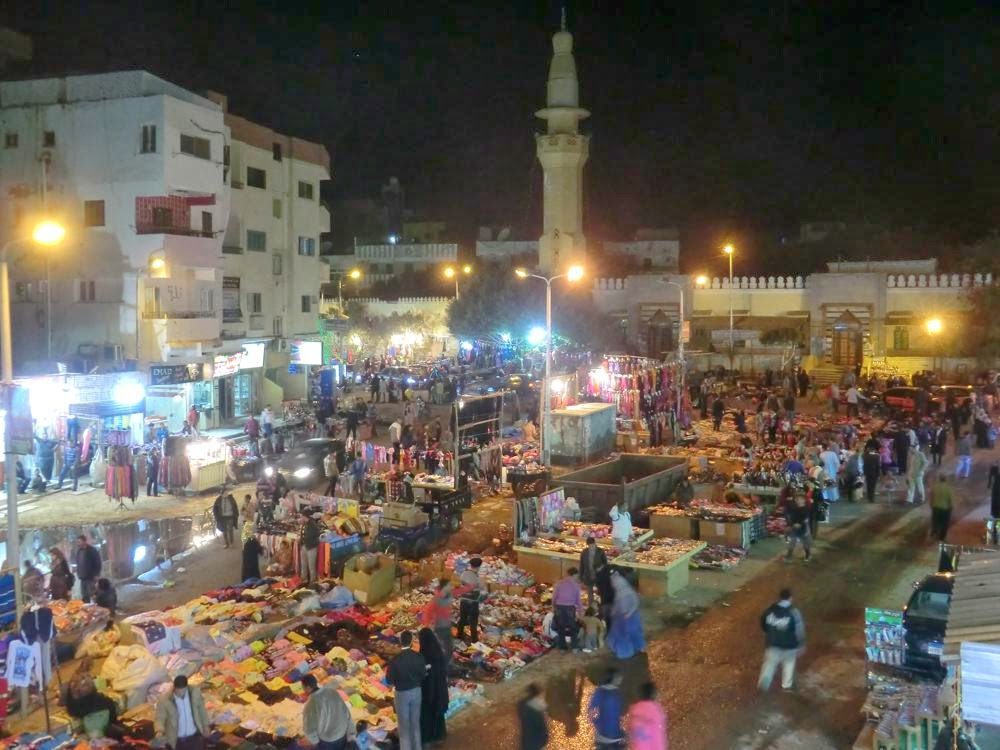 Hurghada mercado
