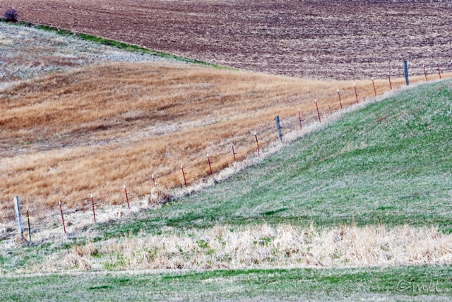 Palouse Fence