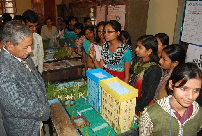 Geography Exhibition held in Patna College