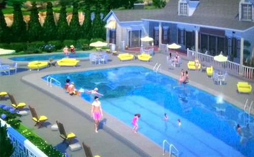 Segunda Captura de Pantalla de Las Piscinas de Los Sims 4 Piscina