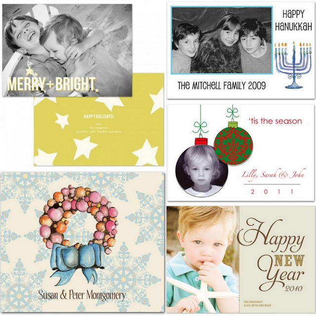 Rutherford Papers holiday cards