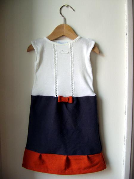 Popolare a zonzo per idee: Vestitini bambina fai da te (come riciclare body  DU84