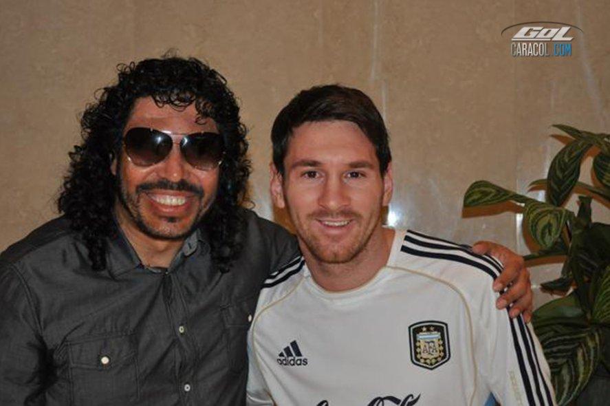 Amigos de Messi vs. Resto del mundo