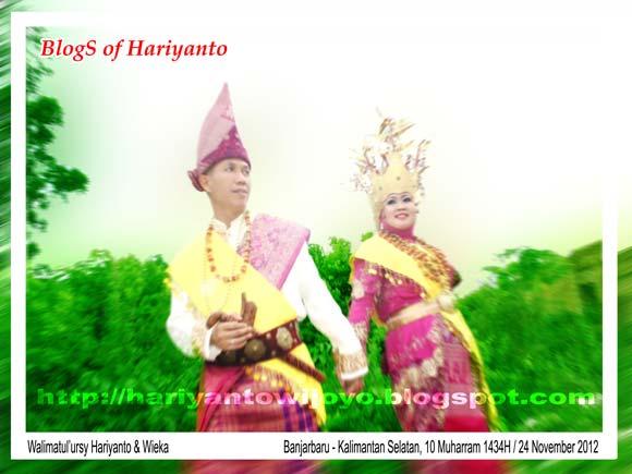 Walimatul'ursy Hariyanto Wijoyo dan Wieka Wintari