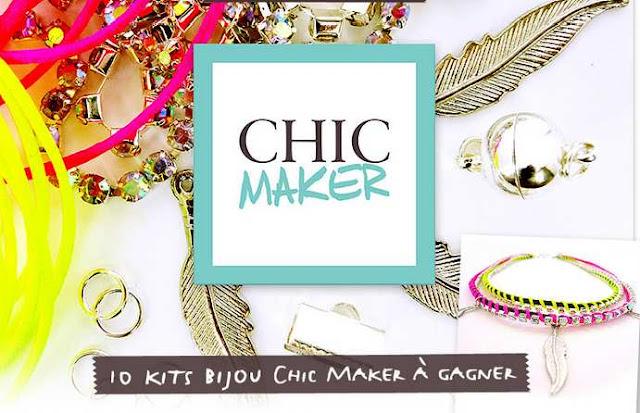 10 box bijoux Chic Maker à gagner