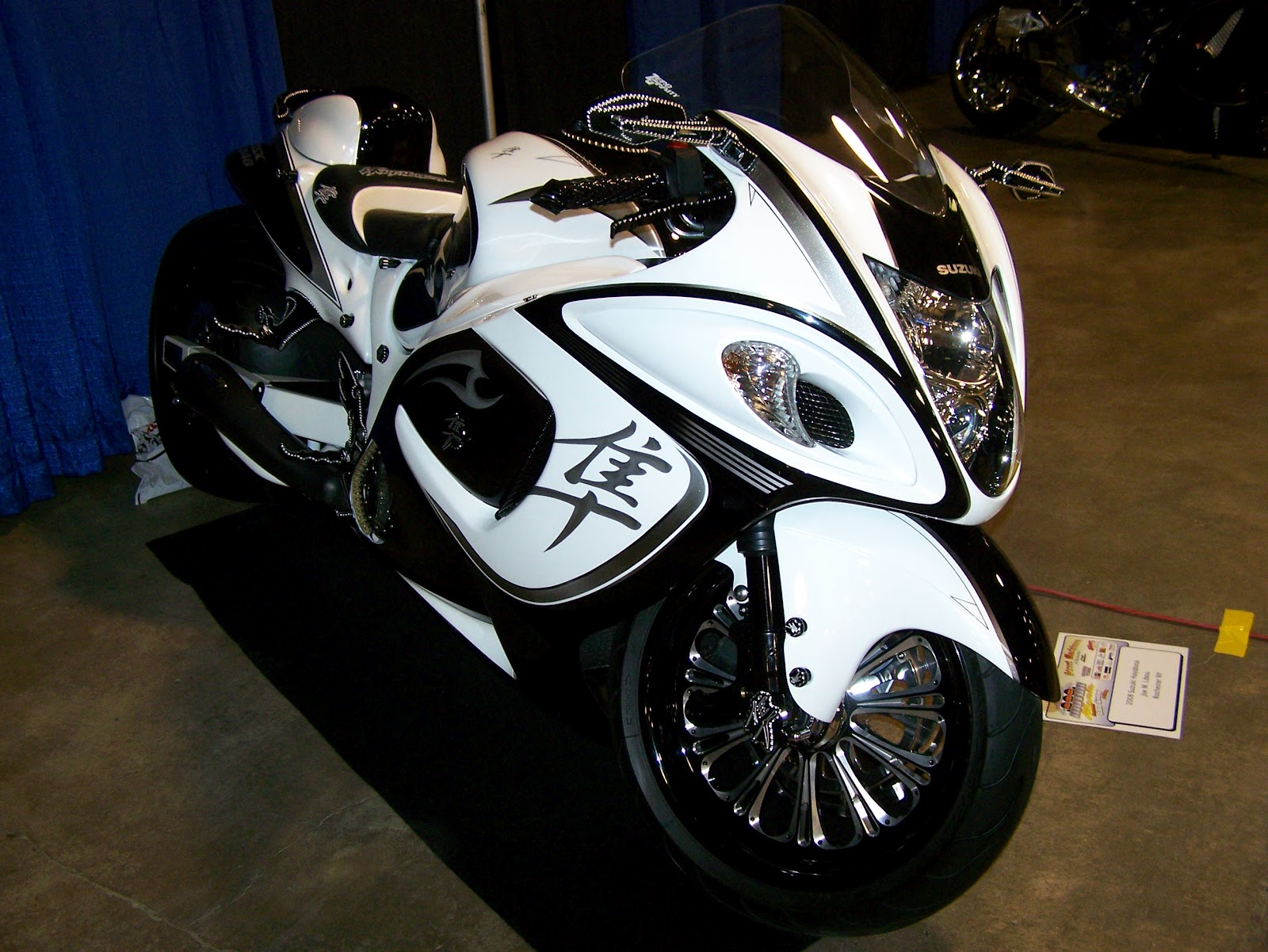 Suzuki Hayabusa Custom Parts Uk