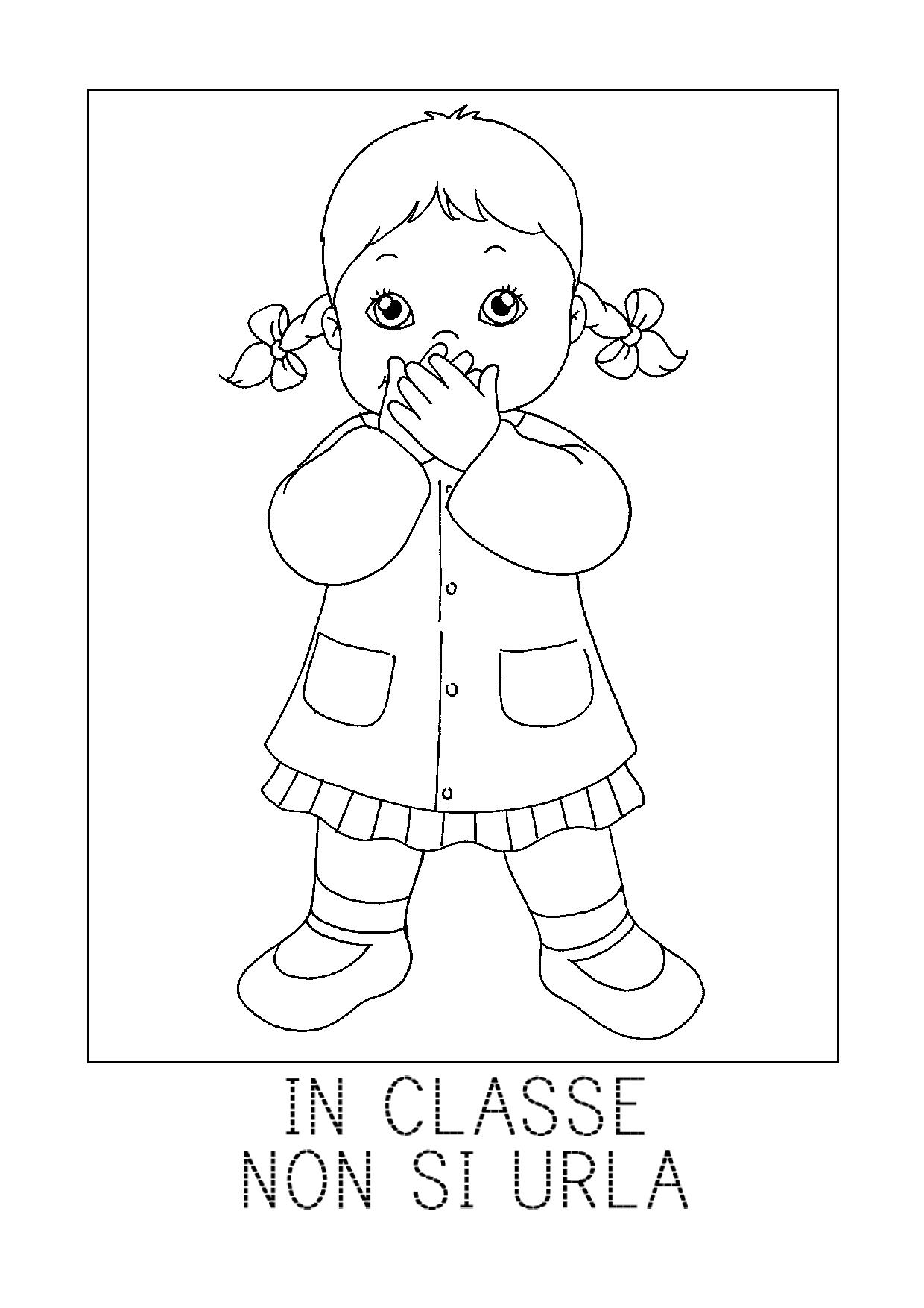 Pz c disegni da colorare for Disegno cavallo per bambini