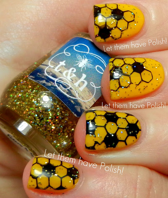 Honey Yellow Nail Polish: Let Them Have Polish!: 31 Day Challenge 2012! Day Three