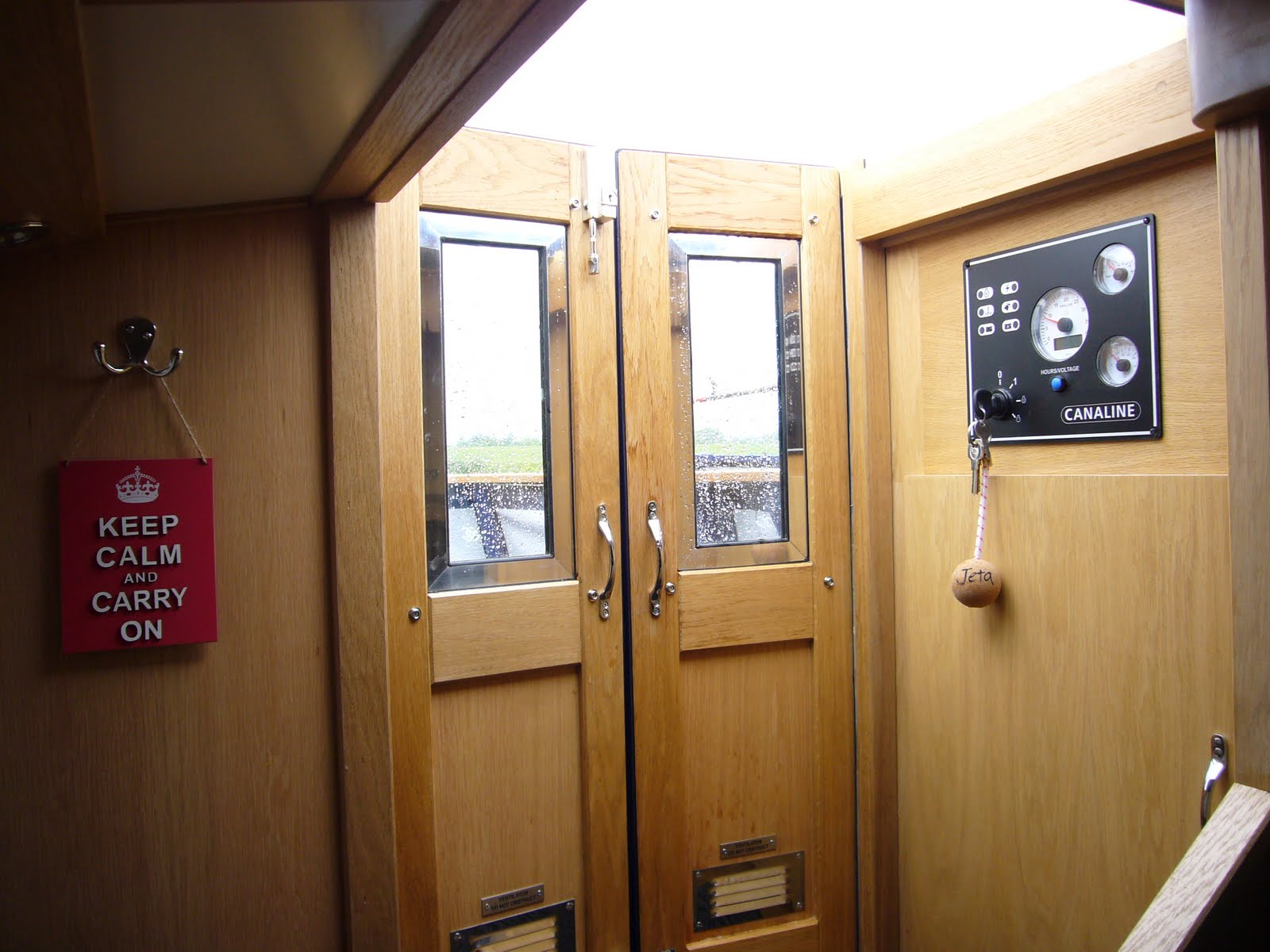Above - Stern doors. Engine control panel above the electrical cupboard - as a main dealer for Engines Plus we are now installing the Canaline range of ... & AQUA NARROWBOATS: Aqua Jeta Launched pezcame.com