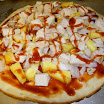 Pizza with Foster Farms Chicken Strips