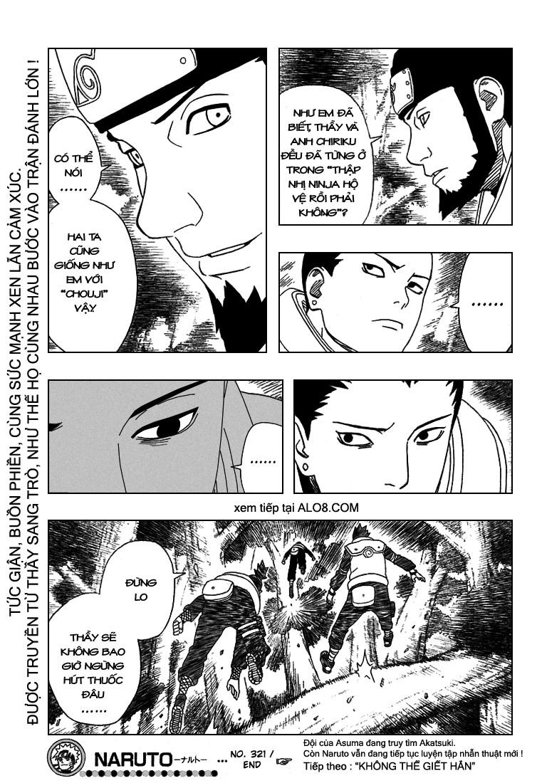 Naruto chap 321 Trang 17 - Mangak.info