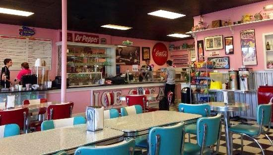 Living A Doll S Life Ice Cream Shop Fifties Soda