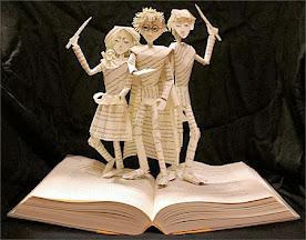 Escultura de Livro