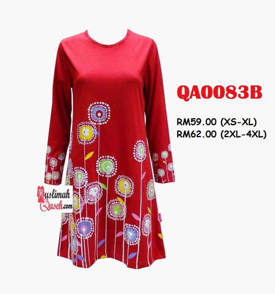 T-Shirt-Muslimah-Qaseh-QA0083B