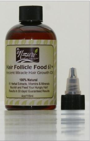 Nzuri hair follicle food 61 ancient miracle hair growth oil