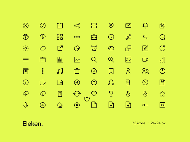 Free Vector : Download 72 Icon Format EPS, PSD, Sketch, SVG