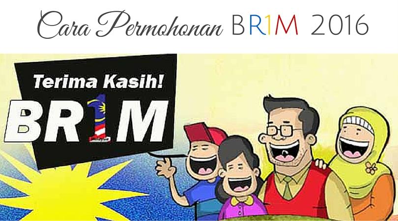 Cara Permohonan BR1M 2016