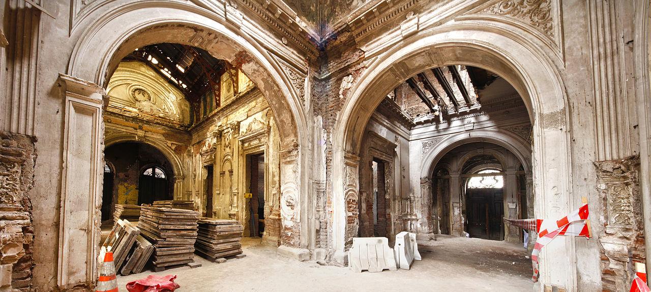 Icomos chile concurso palacio pereira - Arquitectura pereira ...