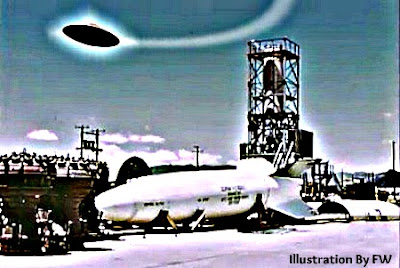 UFO Over Weapons Storage Area
