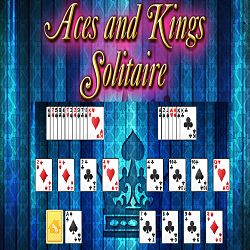 Aces and Kings Solitaire Card Game