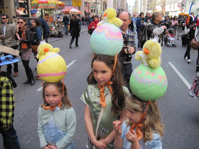 Young and old alike strap on their Easter hats for this Old New York tradition