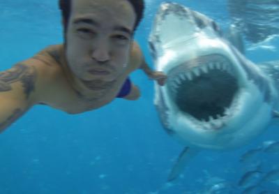 Selfies hechos en el peor momento posible
