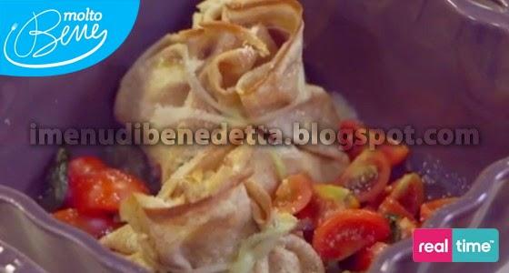 Fagottini di crespelle la ricetta di benedetta parodi for Mozzarella in carrozza parodi