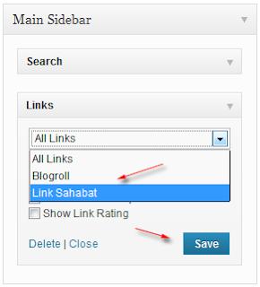 widget link