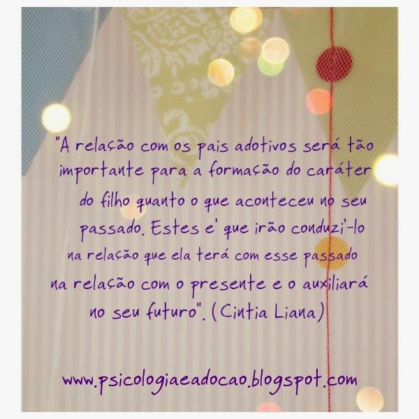 Cintia Liana fala de psicologia, família e adoção