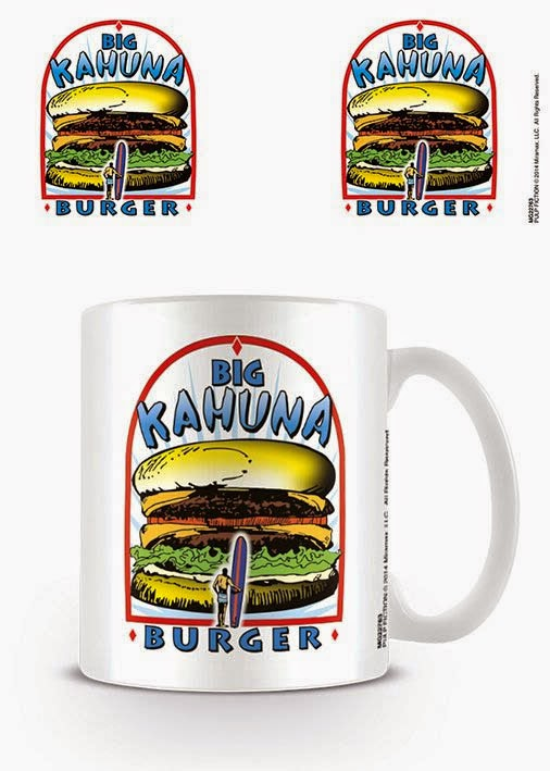 Taza Pulp Fiction Gran Hamburguesa Kahuna
