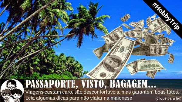 Pocket Hobby - www.pockethobby.com - #Hobby Trip - Passaporte, Visto, bagagem e muito mais!