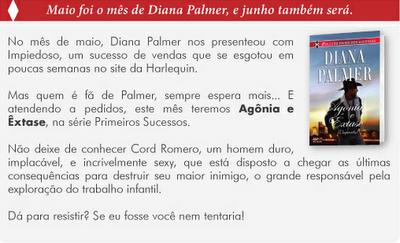 Diana Palmer Agonia e Extase APAIXONADA POR ROMANCES