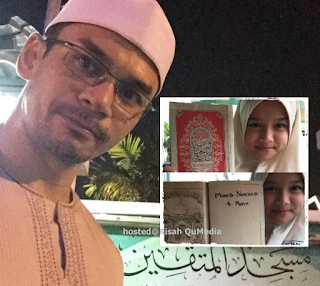 Anak Perempuan Norman Hakim Buat Ayahnya Sayu Di Pagi Ramadhan