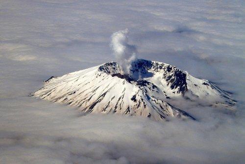 famous Mount Saint Helens