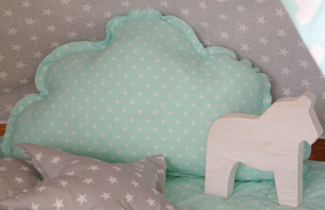 poduszki dla dziecka, poduszki do tipi, poduszki chmury, konik skandynawski, skandynawski konik