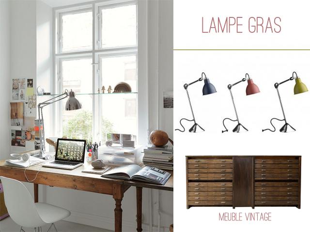 lampe gras bureau