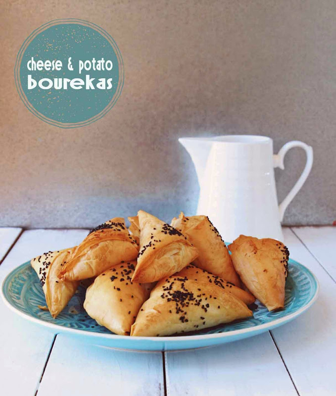 Milk and Honey: Cheese and Potato Bourekas