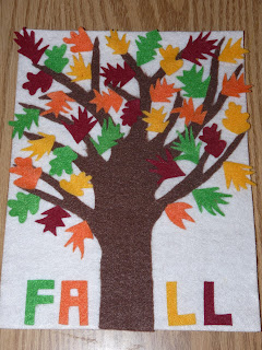 fall project toddler