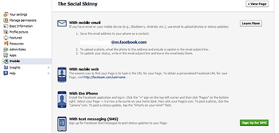 Puteti posta pe Facebook si prin email sau SMS