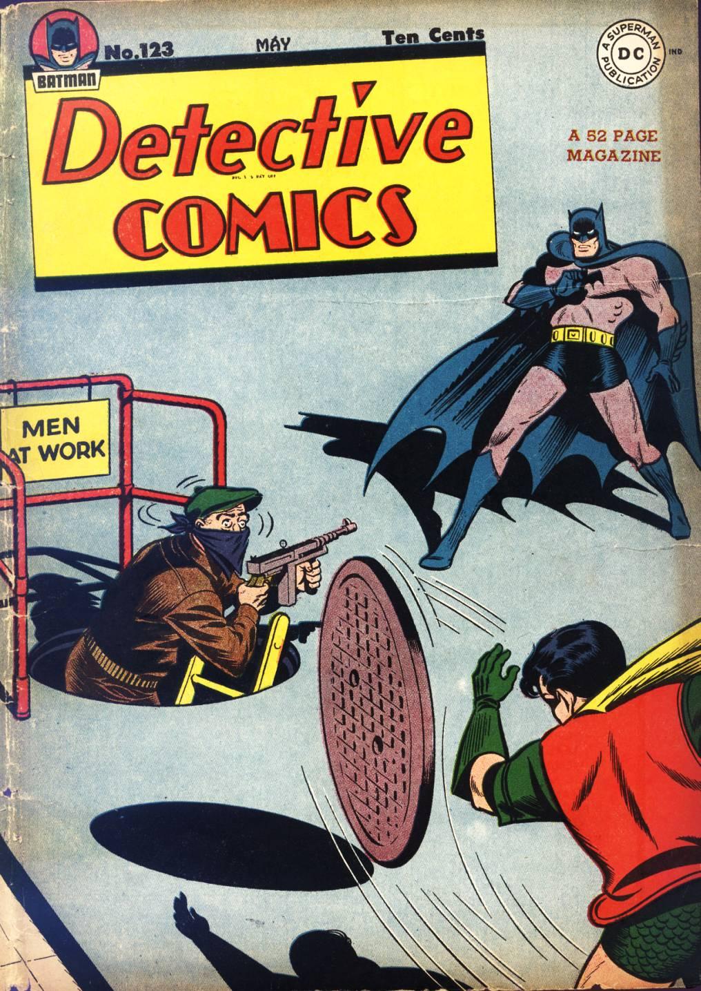 Detective Comics (1937) 123 Page 1