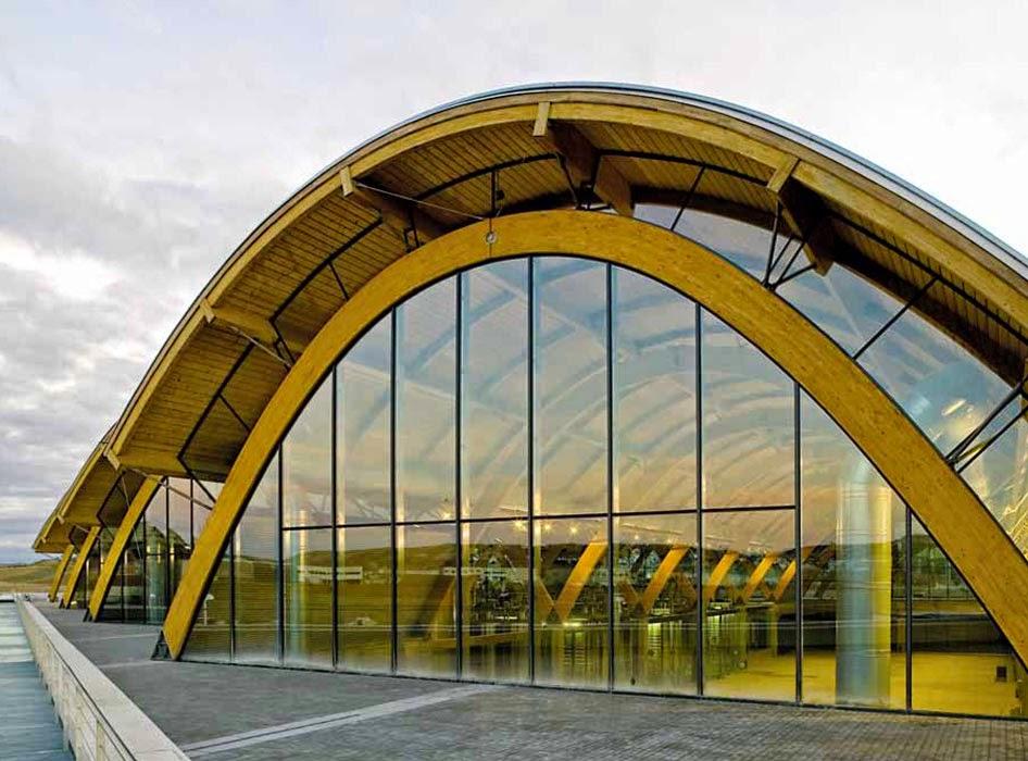 Los arcos de madera laminada - Maderas para arcos ...
