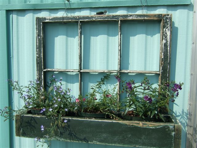 Dishfunctional Designs: Window of Opportunity: Old Salvaged ...