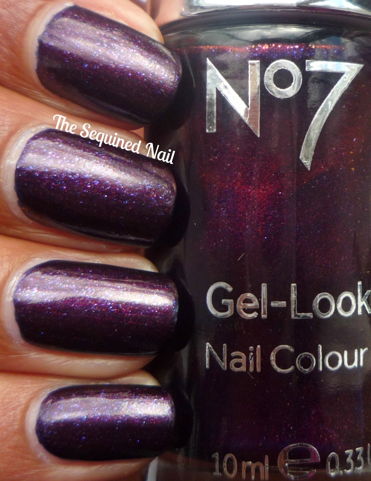 No7 Gel Look Shine Nail Polish Set - Creative Touch