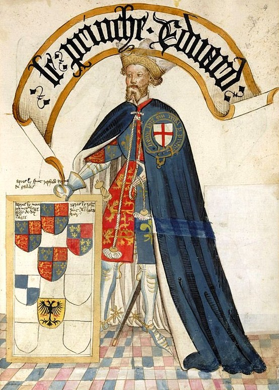 the black prince The feathers and the dead king's motto 'ich dien' (i serve) were adopted by  edward as  the black prince died at westminster on 8 june 1376, at he age of  45.