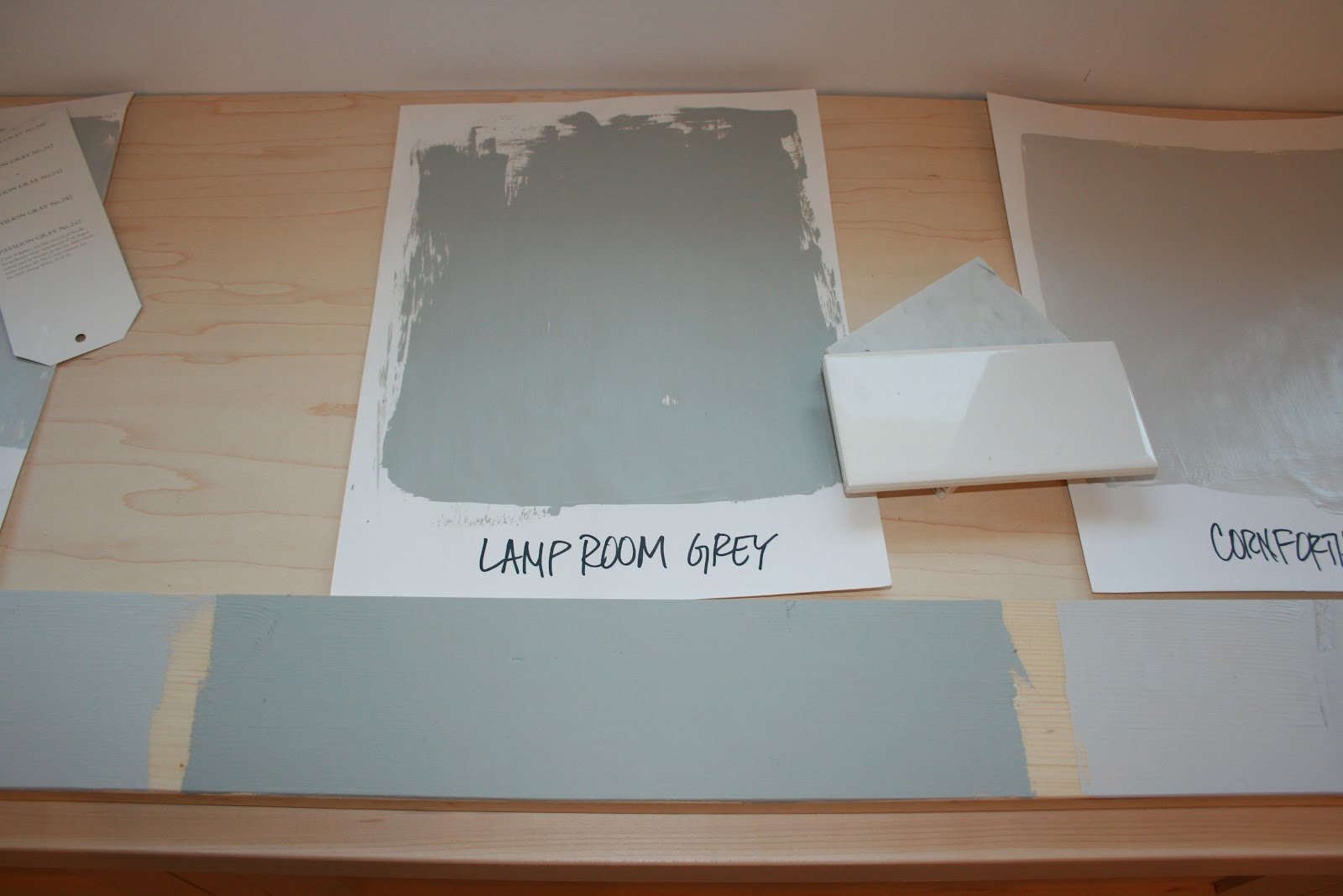 Farrow and Ball Lamp Room Grey