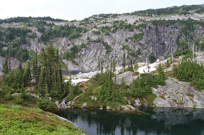 View of Lower and Upper Robin Lakes