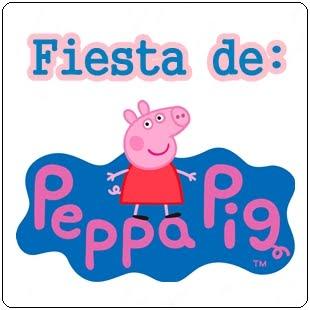 """FIESTA """"PEPPA PIG"""""""