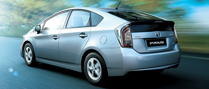 PRIUS Back View