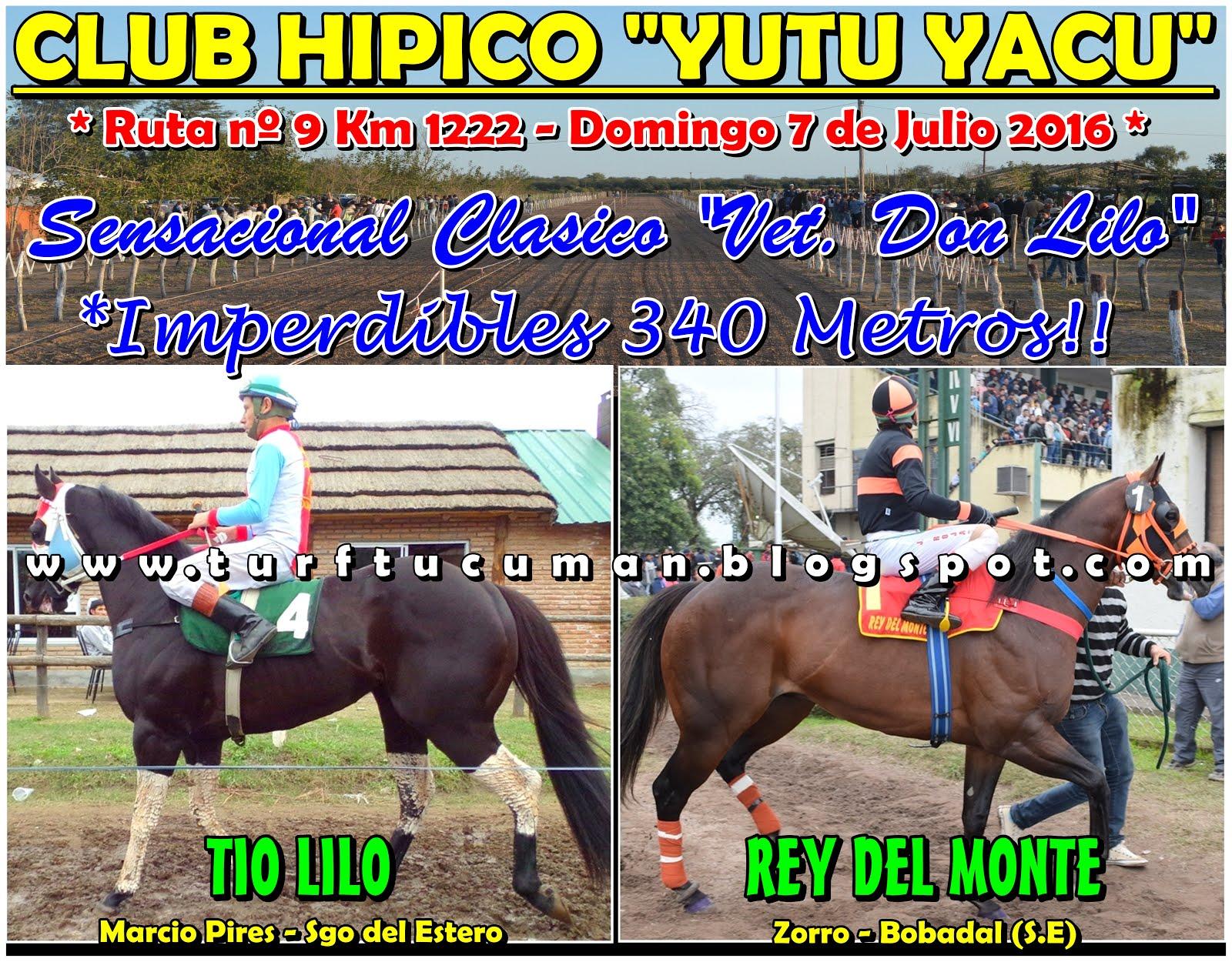 REY DEL MONTE VS TIO LILO