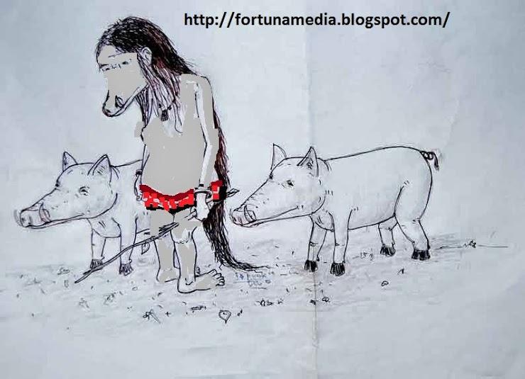 Misteri Si Bigau Gembala Pelindung Babi Hutan